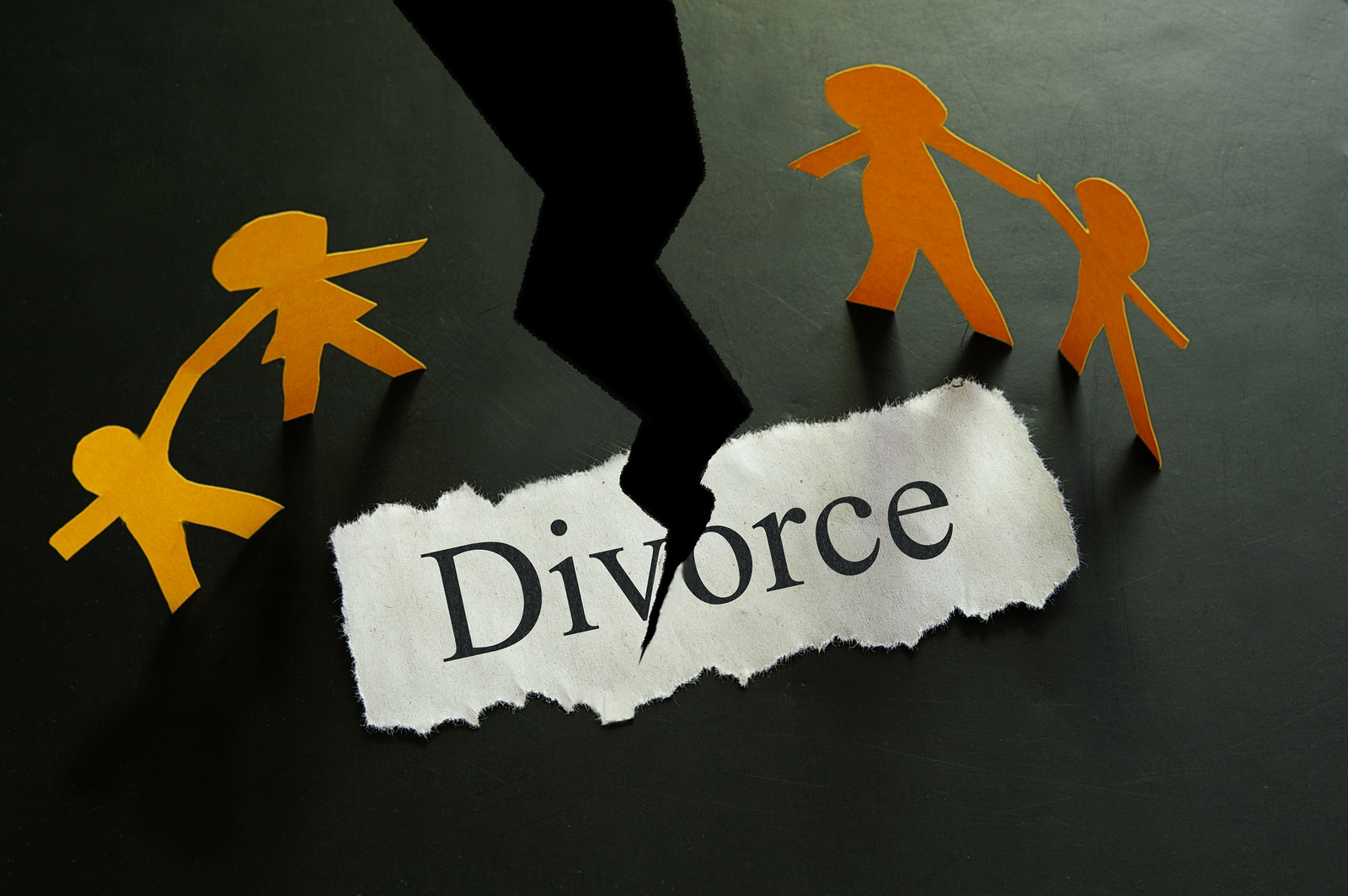 Five Types of Divorce